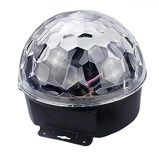 ApgstoreRGB Discokugel Kristall Magic Ball Disco DJ Lichteffekt Bühnen Partybeleuchtung