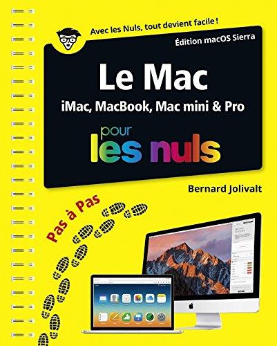 Le Mac ed OS X 10.12 pas à pas Pour les Nuls (PAS A PAS NULS)