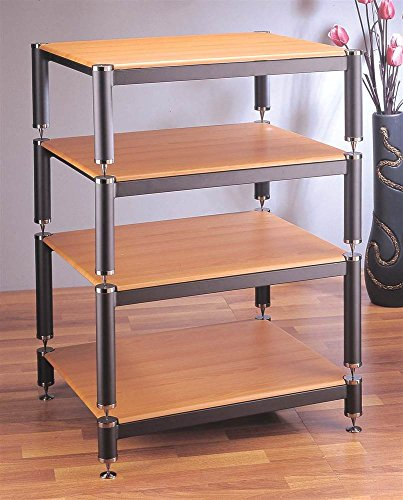 bl-series-stackable-audio-video-rack-gold-w-black-shelf