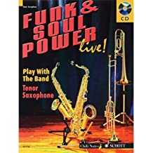 Funk & Soul Power: Play Tenor Sax with the Band (Play With the Band) (Mixed media product)(English / German) - Common