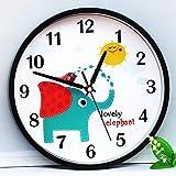 Reloj De Mesa Retro De Pared Personalidad del Reloj De Pared del Hogar Europeo Decoración De Mesa Colgando De La Sala De Estar Otro Blanco Lechoso