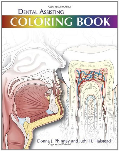DENTAL ASSISTING COLORING BOOK by PHINNEY/HALSTEAD (2010-08-16)