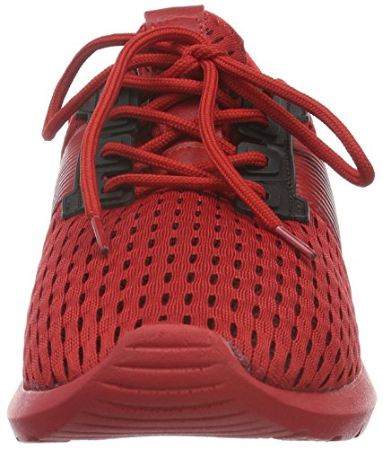 Tamboga Unisex-Erwachsene 1046 Low-Top Rot (Red 02)
