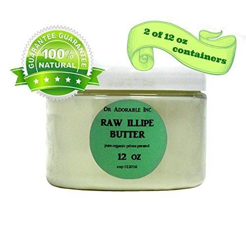 Best Premium RAW Illipe Butter Organic 100% Pure 24 Oz