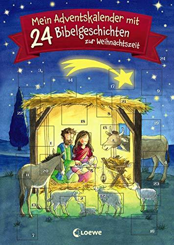 Mein Adventskalender mit 24 Bibelgeschichten zur Weihnachtszeit: ab 7 Jahre