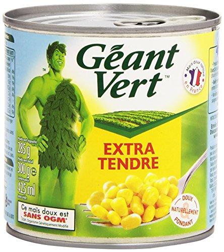 Géant Vert Maïs Extra Tendre 300 g - Lot de 6