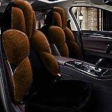 Coprisedile per protezioni per seggiolini auto Coperchio del volante dell'automobile di inverno / coperture morbide calde universali calde per la guida degli uomini dell'automobile della ragazza degli