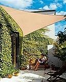 DARWIN Sonnensegel Quadrat 360 x 360 cm Profigewebe in 3 Farben, Farbe:terracotta