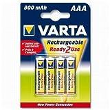 Varta Electronics Longlife AAA HR03 800mAh 4Stück [Elektronik]