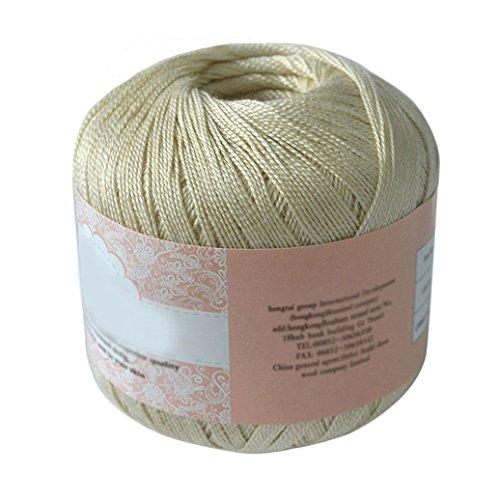 00762df9cc BRUSSELS08 corda di cotone mercerizzato filo filato per ricamo a crochet  Lace gioielli, Cotone, 09