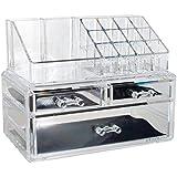 Organizador para maquillaje de acrílico de OPUL, almacenaje para maquillaje y cosméticos con un diseño elegante