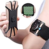 CubotSportRunning Armband (14 Zoll)fürHandy / Smartphone bis6.5Zollgeeignet, Universelles Sportarmbandmit180°drehbaremKopf und abnehmbarerHandyhalterung / Handyhülle, IdealgeeignetfürLaufen,Joggen,Wandern,Radfahren,Fitnessstudiouvm für iPhone XS/XS MAX/XS/X/8/7/6/6S/5/SE, HUAWEI P10/P20/Mate 10, Samsung Galaxy S9/S8/S7/S6/J5/J3, LG, Honor, Sony, Cubot, HTC, Motolora, Nokia, Oneplus Schwarz