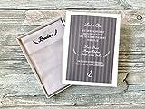 Hochzeit Geschenk Brautopa - Taschentuch für Freudentränen