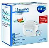 BRITA Filterkartuschen MAXTRA+ im 12er Pack – Kartuschen für alle BRITA Wasserfilter zur Reduzierung von Kalk, Chlor & geschmacksstörenden Stoffen im Leitungswasser