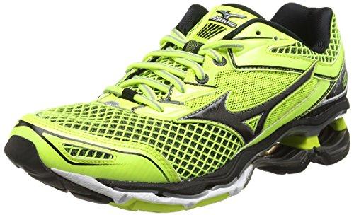 MizunoWave Creation 18 - Zapatillas de running hombre , color Amarillo, talla 43 EU