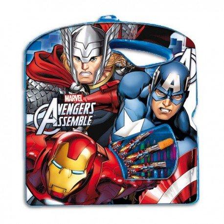 The Avengers Valigetta Colori 40 pezzi