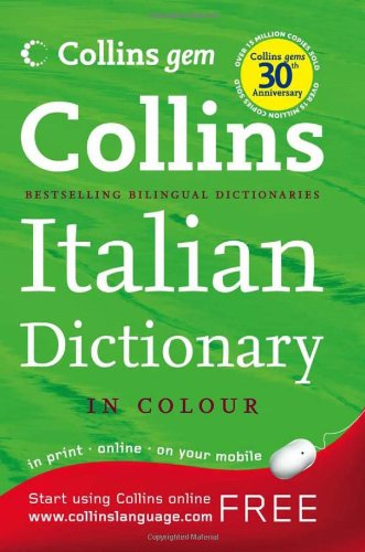 Collins Gem Italian Dictionary (Collins Gem)