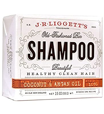 J.R. Liggett's, Shampoo Bar, Virgin Coconut & Argan Oil, 3.5 oz (99 g) by J.R. Liggett's
