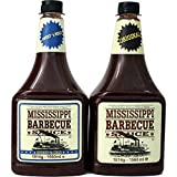Mississippi Barbecue Grill Sauce 'Original & Sweet'n Mild', 2x 1560ml (Doppelpack)