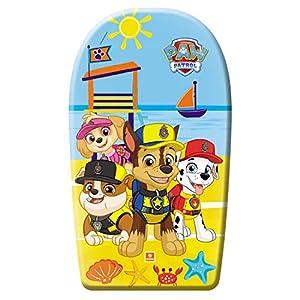 Mondo-11211 Paw Patrol - Tabla de Playa, Color Amarillo y Azul, 11211