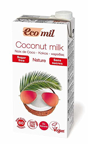 Ecomil | No Sugar Coconut Milk | 6 x 1l