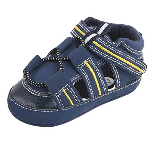 Do 1paar Meninos Criança Dedo Azul Bebê Sandálias De Sapatos Verão Pé De Crianças Meninas Igemy Fechada w0YnzXxX
