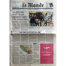 MONDE (LE) [No 19210] du 29/10/2006 - LES DIFFICULTES DE MME ROYAL REDONNENT ESPOIR A M. STRAUSS-KAHN - PARTI SOCIALISTE - LA CANDIDATE ESPERE TOUJOURS PASSER AU PREMIER TOUR DU VOTE DES MILITANTS PAR ISABELLE MANDRAUD MEXIQUE - VIOLENTS AFFRONTEMENTS DANS LA REGION D'OAXACA INCIDENTS DANS LES BANLIEUES, UN AN APRES LES EMEUTES FORTE CHUTE DE LA CROISSANCE AUX ETATS-UNIS LA SERBIE VOTE POUR TENTER DE CONSERVER LE KOSOVO PAR CHRISTOPHE CHATELOT BECKETT A LA LETTRE ARGENT - SOUSCRIR