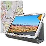kwmobile Huawei MediaPad T5 10 Hülle - Tablet Cover Case Schutzhülle für Huawei MediaPad T5 10 mit Ständer