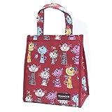 TEAMOOK Lunch Tasche Wasserdicht Leichte modern Picknicktasche Mittagessen Isoliert Tasche Tasche für Brotdose für Kinder, Mädchen, Damen (rote Katze)