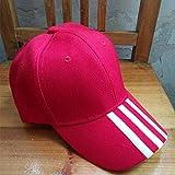 Hut weibliche Kappe Paar Baseballmütze gestreiften Stickerei Sonnenhut männlich schwarzen Hut weiße Linie einstellbar