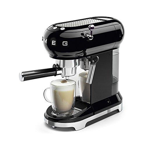 Smeg 146873Machine à café, réglable kafeet emperatur avec milschaufs Mousseur à lait