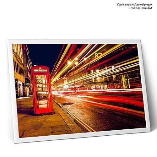 poster-londra-cabina-telefonica-su-sfondo-di-luci-on-glossy-photo-paper-size-70cmx100cm
