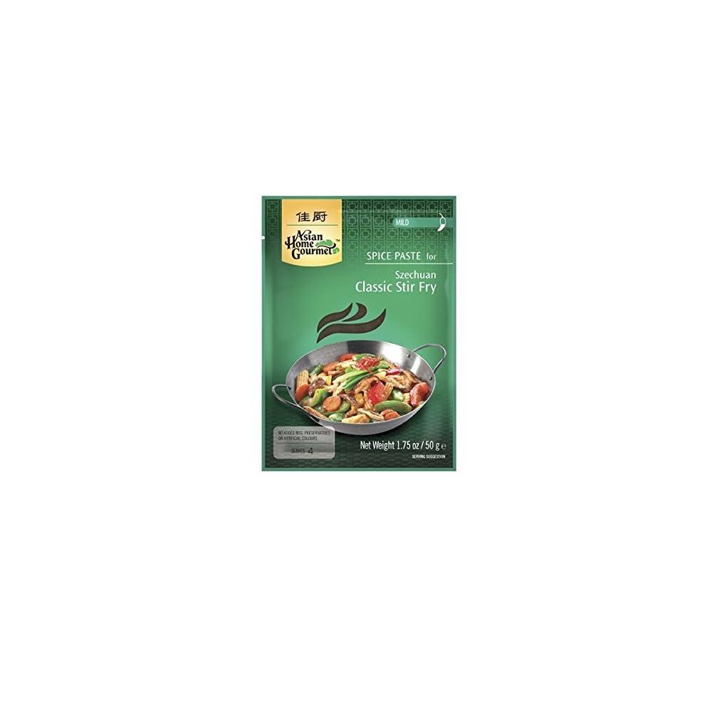 Asian Home Gourmet Wrzpaste Fr Typisches Szechuan Pfannengericht 50g