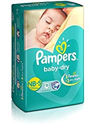 Pampers Small Size Diapers (11 Count)