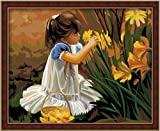 Diy oil painting, paint by number kit- Pick Four Seasons 16*20 inch.
