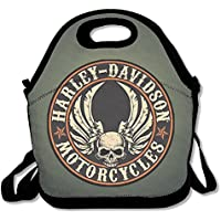 superww Harley Davidson Logo bolsa para el almuerzo Tote bolso