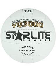 Leder-Spielball Volleyball Weiß 64cm für alle Oberflächen-Beach-Nettoball-Größe 5