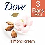 #8: Dove Almond Cream Beauty Bathing Bar, 100g (Pack of 3)