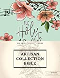 Niv, Artisan Collection Bible, Cloth Over Board, Turquoise Floral, Designed Edges Under Gilding, Red Letter Edition, Comfort Print - 7