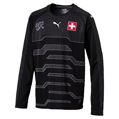 Puma Schweiz Trikot Torwart Kinder WM 2018 - Sommer 1, Größe:140