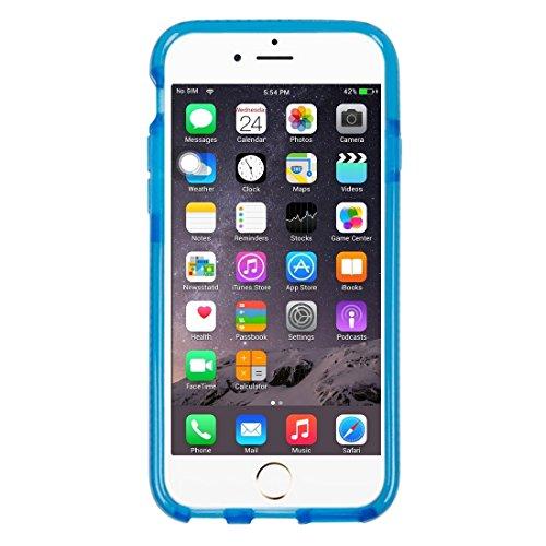 Für iPhone 6 & 6s Reiskörner Muster TPU Schutzhülle Rückseite by diebelleu ( Color : Dark Blue ) Dark Blue