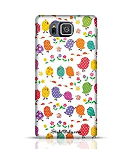 Style baby Colourful Birds Samsung Galaxy Alpha G850 Phone Case