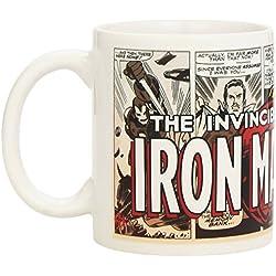 Semic Distribution SMUG014 Marvel Retro Serie 1 - Taza de cerámica, diseño Iron Man