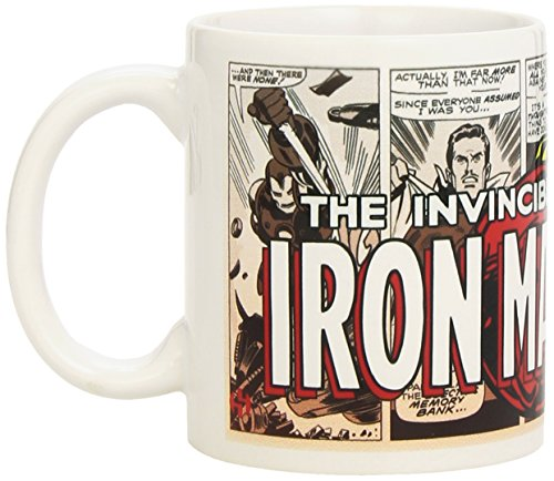 (Semic Distribution smug014–Möbel und Dekoration–Tasse Marvel Retro Serie 1–Iron Man)