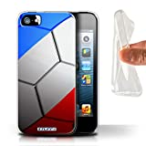 Stuff4 Coque Gel TPU de Coque pour Apple iPhone 5/5S / France/Français...