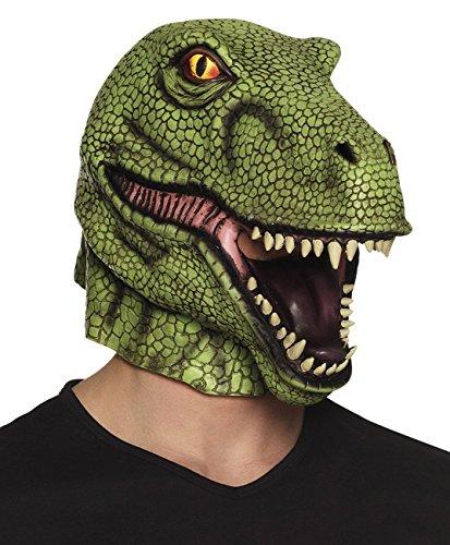 Boland 00156 Latexmaske, unisex-adult, T-rex, One Size