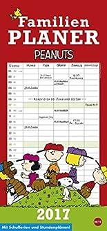 Peanuts Familienplaner - Kalender 2017 hier kaufen