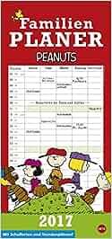 Peanuts Familienplaner – Kalender 2017: Heye