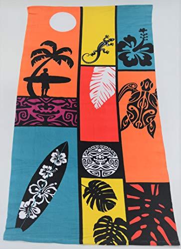 orpheebs - Toalla de Playa de 80 x 160cm, Varios Modelos - 1 Drap de Plage Surf