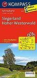 KOMPASS Fahrradkarte Siegerland, Hoher Westerwald: Fahrradkarte. GPS-genau. 1:70000: Fietskaart 1:70 000 (KOMPASS-Fahrradkarten Deutschland, Band 3057)